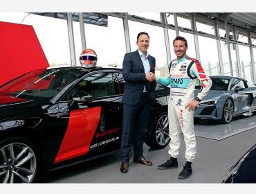 Top départ pour la deuxième saison : Audi Luxembourg poursuit sa coopération à succès avec le pilote Audi Sport Jean-Karl Vernay.