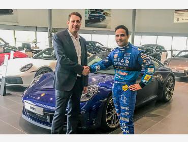 Losch Luxembourg et Porsche Luxembourg soutiennent le pilote Porsche Supercup Dylan Pereira