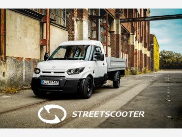 StreetScooter, des outils sur roues 100 % électriques.