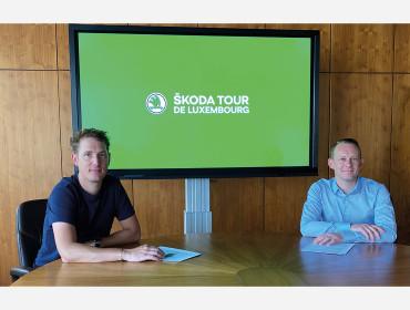 ŠKODA Luxembourg prolonge son partenariat de sponsoring avec l'organisateur du Tour de Luxembourg jusqu'en 2022