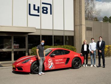 Porsche Luxembourg et Dylan Pereira: un partenariat autour d'une passion commune.
