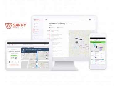 Savvy Mobility: le logiciel de mobilité à la demande de Losch Luxembourg fait peau neuve